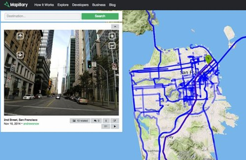 Mapillary is Building a Crowdsourced Street View with User Submitted Photos