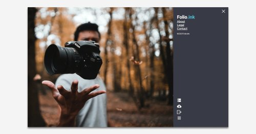 Folio.ink is a Free Photo Gallery Platform That Doesn't Require a Login