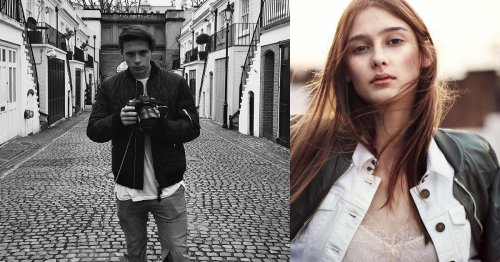 David Beckham's Son Just Shot a Burberry Campaign, and Photographers Are Pissed