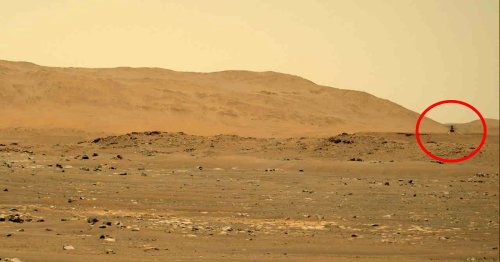 Watch and Listen to NASA's Ingenuity Drone Fly Over the Martian Surface