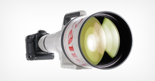 Canon 1200mm f/5.6 Sells for $580,000, Most Ever for a Lens