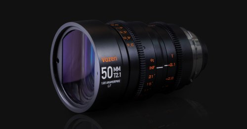 Vazen Launches 50mm T2.1 Anamorphic Lens for Full-Frame EF Cameras
