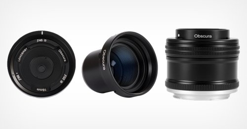 Lenbaby Launches New 'Pinhole-Style' Obscura Lens
