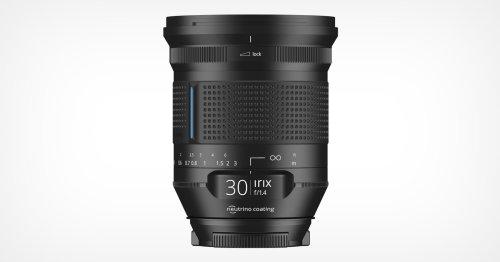 Irix Unveils the Cinema-Inspired 30mm f/1.4 Lens for DSLRs