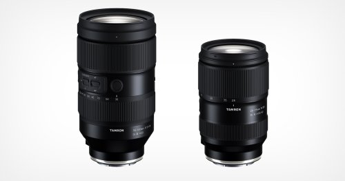 Tamron Developing 35-150mm f/2-2.8 and 28-75mm f/2.8 for E-Mount