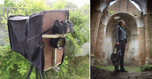 Photographer Recreates Large Format Film Look with a Digital Camera