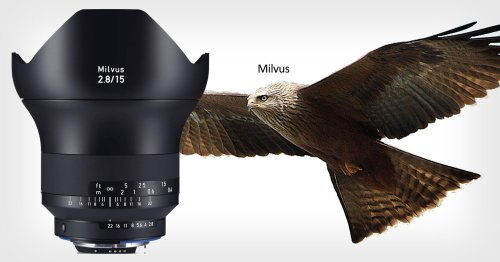 Zeiss Lens Families Are Named After Birds