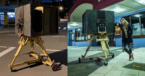 Man Builds Huge 'Ultra Large Format' Camera With a 600mm f/9 Lens