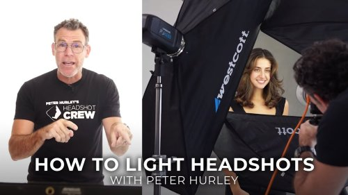 How to Light Headshots: Five Tips from Peter Hurley