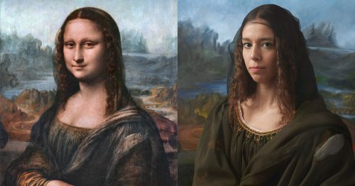 Portraits of Famous Figures Recreated by Their Descendants