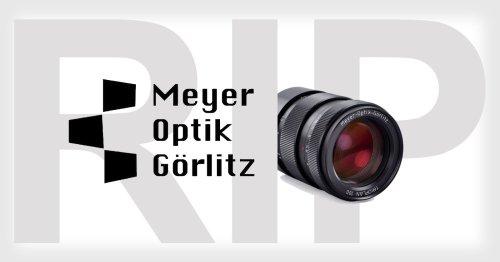 If You Backed Meyer Optik Görlitz on Kickstarter, Your Money is Gone