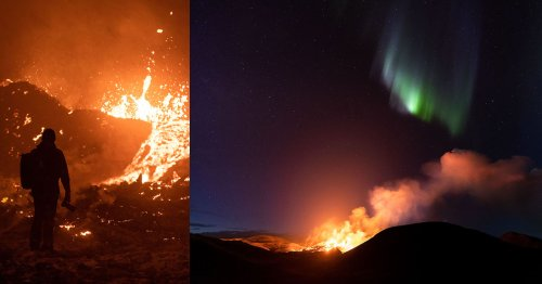 My Journey in Photographing Iceland's Volcano Eruption Over 10 Weeks