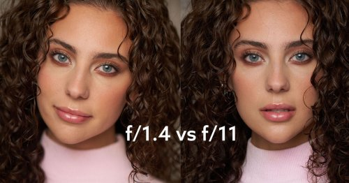 Shooting Portraits Wide Open Versus Stopping Down
