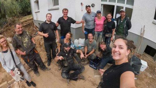 Pforzheimer Unternehmer helfen im Hochwassergebiet Ahrtal