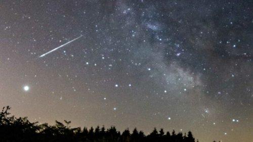 Meteorit über Süddeutschland gesichtet
