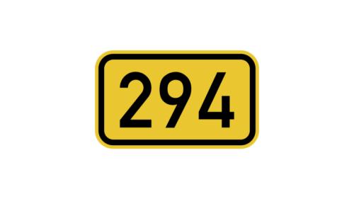 Bundesstraße B 294 nach Bretten wieder durchlässig