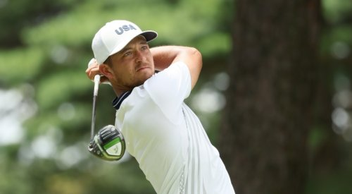 Xander Schauffele holds one-shot lead at The Olympics