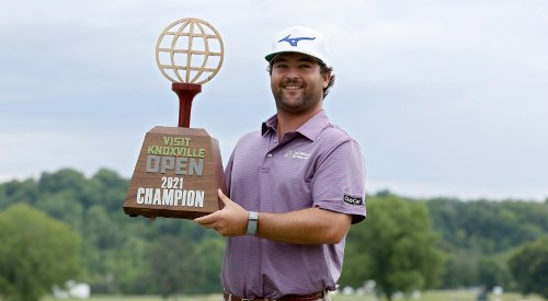 Greyson Sigg completes comeback victory at Visit Knoxville Open
