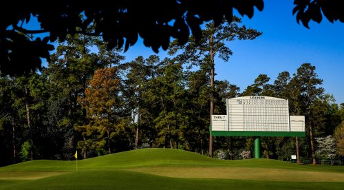 2021 Masters tee times, Rounds 1 & 2