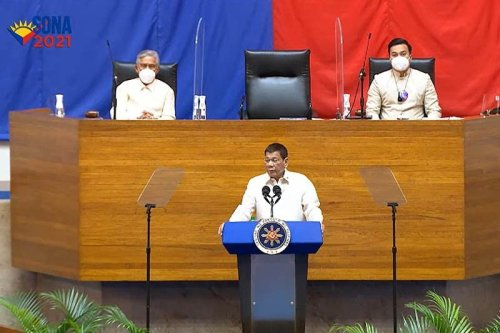 In last SONA, Duterte pitches to Congress: Pass bill for free legal aid to PNP, AFP facing charges