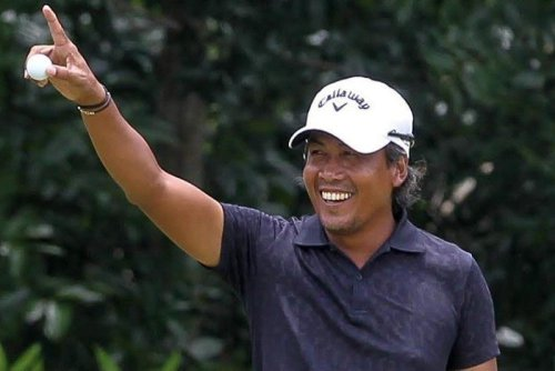 First Filipino golfer in Olympics launches medal bid