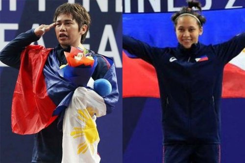 Pinoy weightlifters tip off Asian meet, Hidilyn competes Sunday