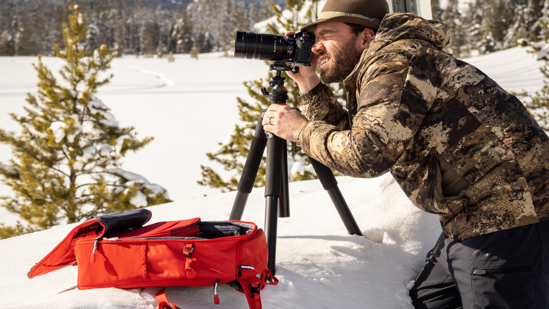 Trust your camera to a Db Backpack