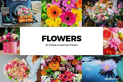 8 Free Flowers Lightroom Presets and LUTs | Photoshop Tutorials