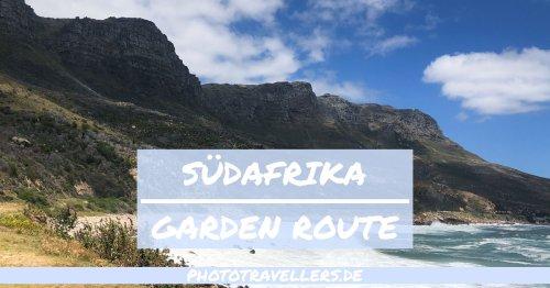 Südafrika Garden Route: genaue Tour, Tipps & alle Highlights [mit Karte]