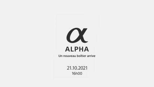 Sony : un nouveau boîtier hybride plein format sera dévoilé le 21 octobre