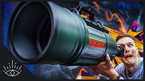 Vidéo : réaliser des photos de portrait à 1500 mm avec le «Bazooka» de Sigma