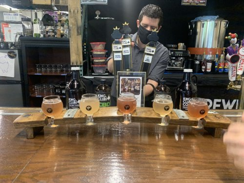Virginia's first hard kombucha bar is like a boozy science lab at the state fair