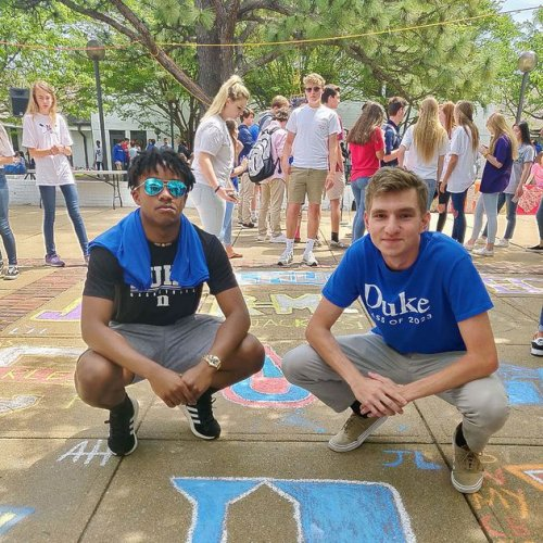 Two high school friends will continue to 'Duke' it out at college