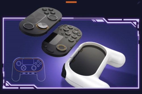 This is Tencent's controller for cloud gaming- PingWest