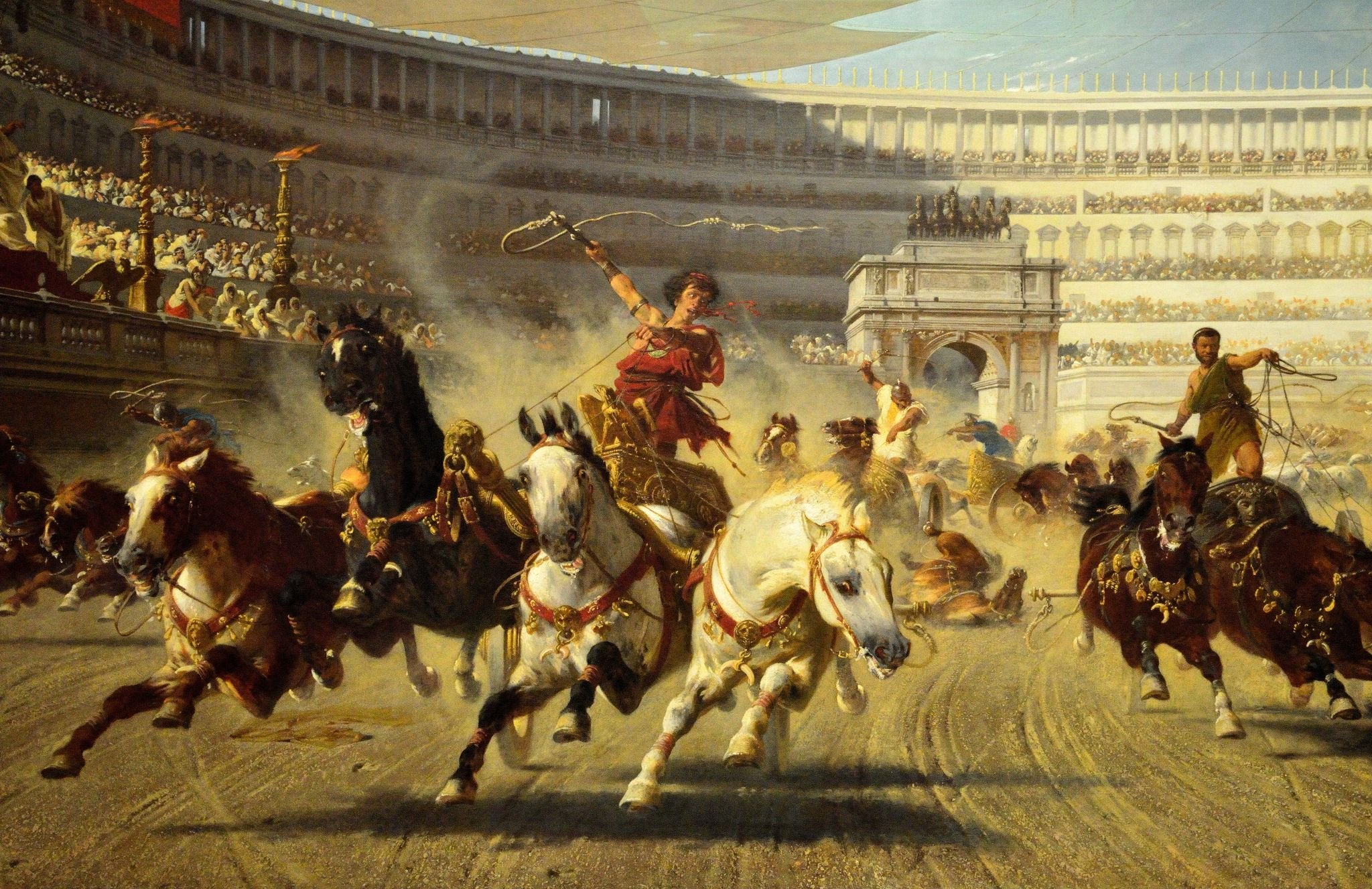 Chariot Racing In The Roman Empire: Speed, Fame, and Politics