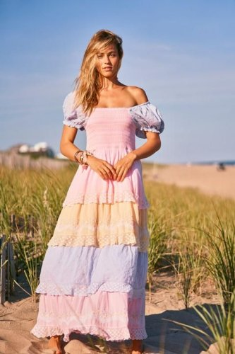 Capella Tiered Maxi Dress | Tiered maxi dress, Maxi dress, Dresses