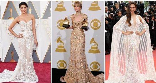 Priyanka Chopra Jonas, Taylor Swift to Deepika Padukone: ALL the celebs who STUNNED in Zuhair Murad gowns