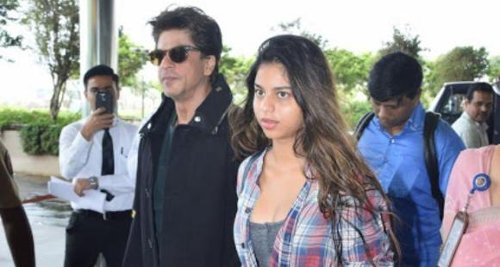When Shah Rukh Khan revealed his reaction if he got to know Suhana Khan had a boyfriend: I'd rip his lips off