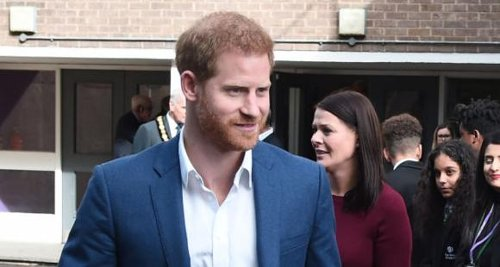 Prince Harry is quarantining at his Frogmore Cottage home where he lived with Meghan Markle & son Archie
