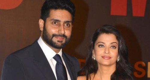 Abhishek Bachchan has THIS reply for a fan who shared a smiling wedding picture of him & Aishwarya Rai