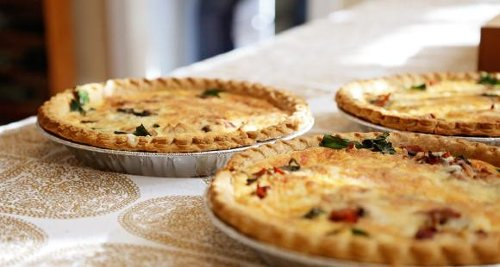 EASY 5 step recipe to make a delectable Baked Potato Pie