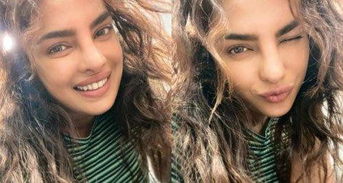 Priyanka Chopra's latest selfie from Citadel sets is 90% of her hair; See PHOTO