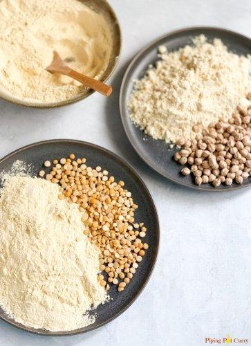 How to Make Chickpea Flour | Gram Flour | Besan