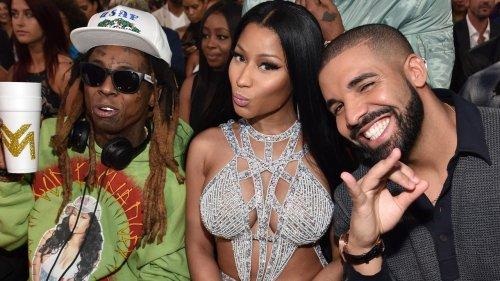 "Nicki Minaj, Drake, and Lil Wayne Share New Song ""Seeing Green"": Listen"