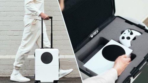 Microsoft imagine une valise inspirée de la Xbox Series S