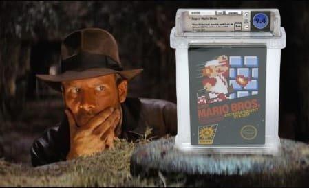 Une cartouche de Super Mario Bros a été vendue pour 2 millions de dollars