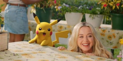 Pokémon : Pikachu et Katty Perry réunis dans un clip pour les 25 ans de la licence