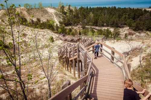 Indiana Dunes National Park Explodes into Color in Spring