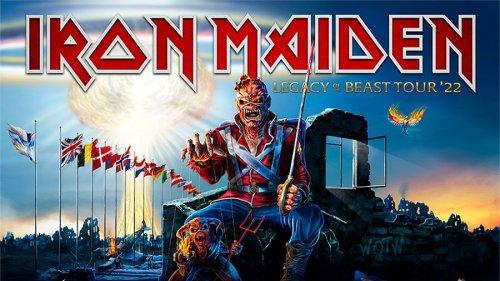 Iron Maiden reschedule European tour for 2022 and add Belfast date