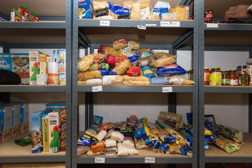 Online food bank push as demand soars in NI